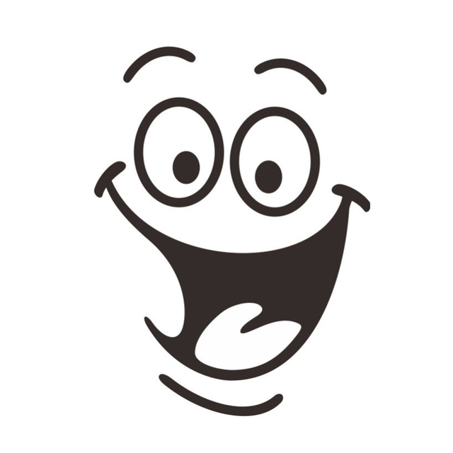 2019 Newest DIY Home Decor Removable Smile Face Funny Bathroom Toilet Seat Art Wall Sticker