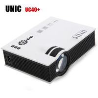 UNIC UC40 Mini LCD Projector 800 X 480 Pixels 800 Lumens Pico Home Cinema Theater Projectors