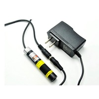 Focusable Infrared IR Laser 830nm 250mW Dot Module Laser Night Visions 16x68mm with US/EU/UK/AU 5V 1A Adapter