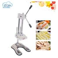 Ручное фри машина картофеля резак фишки + 3 лезвия фруктов и овощей машина