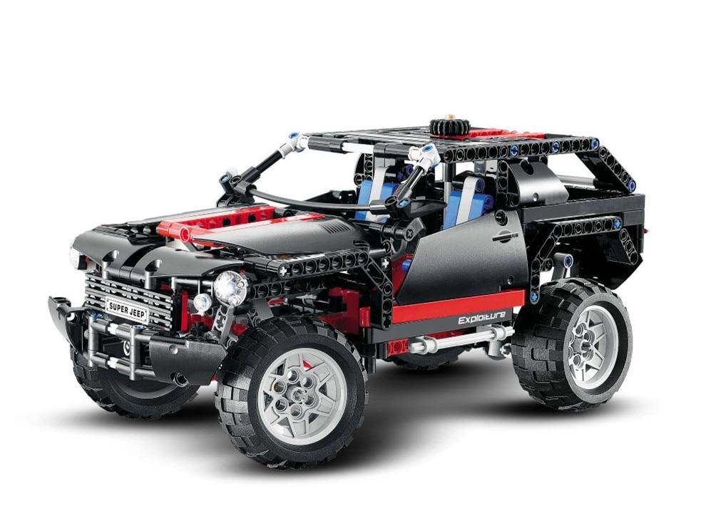 Decool Technic City the Extreme Cruiser SUV Car Building Blocks kits Bricks classic Model Kids Toys Marvel Compatible Legoe цена