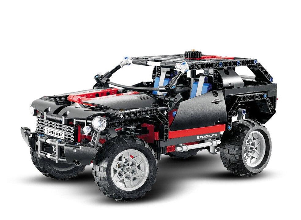 Decool Technic City the Extreme Cruiser SUV Car font b Building b font Blocks kits Bricks