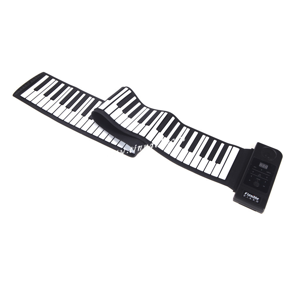 High quality Roll Up Piano Keyboard 61 Keys Synthesizer