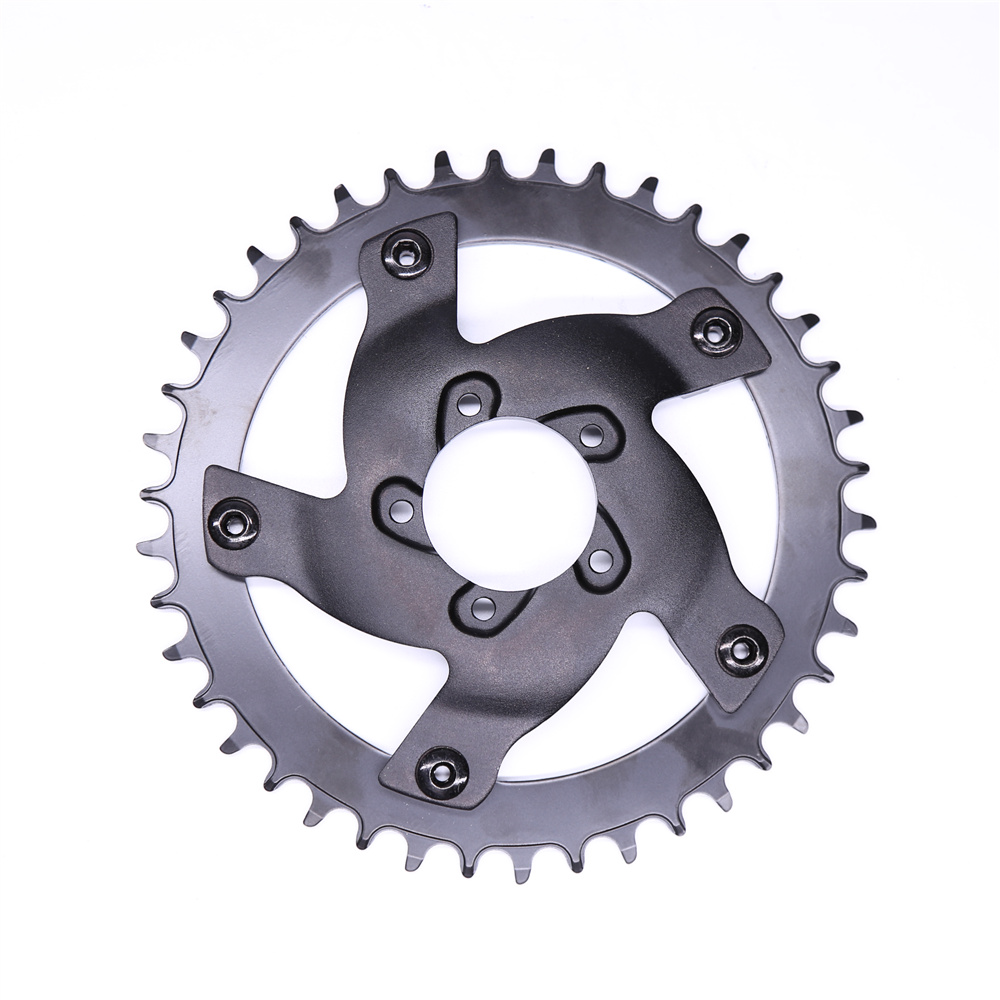 New design 42T aluminium alloy Chainring for banfang BBSHD mid drive motor kit|chainring|chainring 42t|  - title=