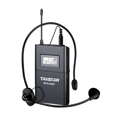 Takstar WTG-500/WTG 500 UHF PLL Беспроводная аудиосистема Рабочий диапазон до 100 м для туристического гида 1 передатчик+ 30 приемников