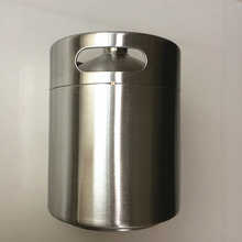 5 Liter Stainless Beer Kegs Portable Volume  176Oz Mini Keg Growler Home Brew Draft Pail Bar Accessories