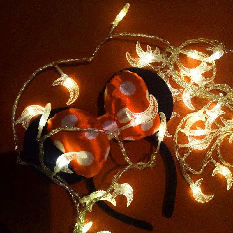 USB/plug light string Romantic Moon Lights 10M 100 LEDS girl room decoration Christmas lights holiday lights outdoor