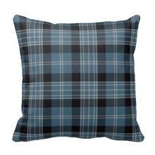 Traditional Clark Tartan Plaid Pillow Case (Size: 20″ by 20″) Free Shipping