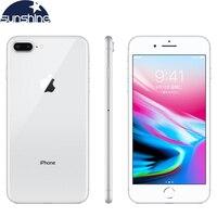 Откройте оригинальный Apple iPhone 8 Plus сотовые телефоны 3 GB ram 64/5,5 GB rom 256 '12,0 MP iOS Hexa-core б/у мобильный телефон