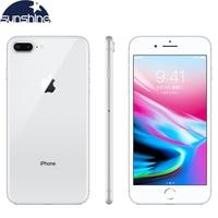 Unlocked Original Apple iPhone 8 Plus Cell phones 3GB RAM 64/256GB ROM 5.5' 12.0 MP iOS Hexa core Used Mobile phone
