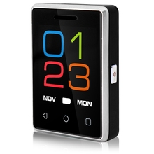 """Оригинальный Мини-Телефон S8 Мобильный Телефон MTK2502 1.54 """"2.5D Сенсорный Экран Bluetooth 4.0 380 мАч Карман Батареи Телефона P055"""