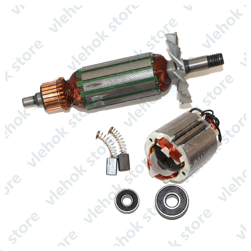 AC220-240V Armature Rotor Stator Field Replace For MAKITA MT190 1923B N1923B 1902 1901 N1900B Portable Planer Motor Power Tool