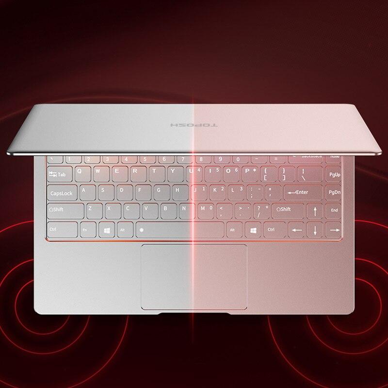 """256g ssd כסף P9-18 8G RAM 256G SSD Intel Celeron J3455 21"""" מחשב שולחני מחברת משחקים ניידת עם מקלדת מוארת (5)"""