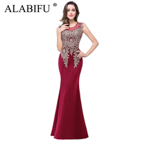 ALABIFU Summer Dress Women 2019 Sexy Sleeveless Long Party Dress Elegant Wedding Bridesmaid Maxi Dress Red Vestidos ukraine