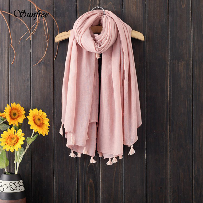 Sunfree 2018 New Hot Sale Fashion Winter Warm Men Women Woolen Long Large Scarf Wrap Brand New High Quality Dec 26