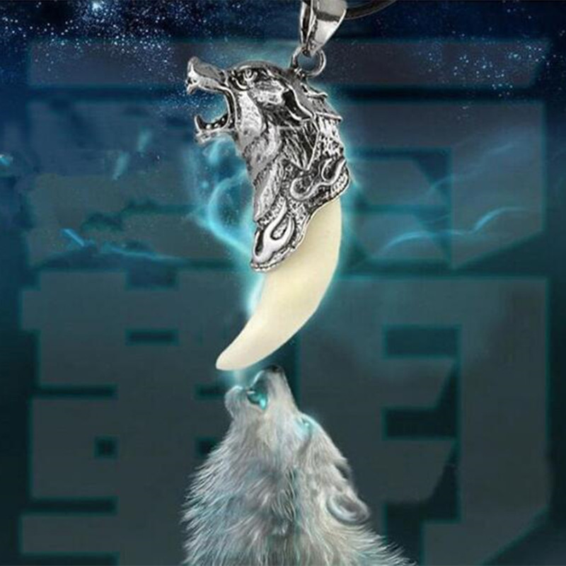 Silver fang wolf