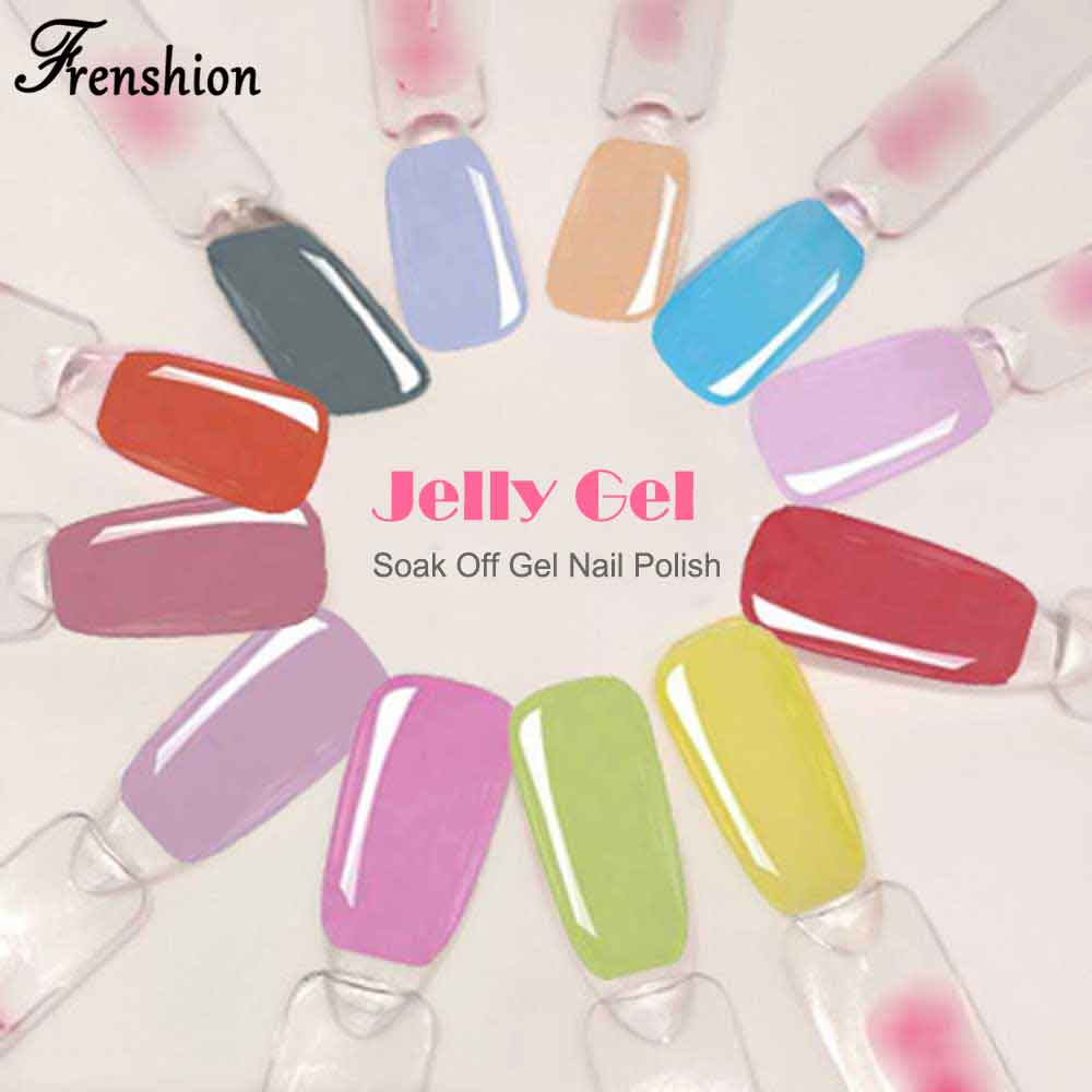 Aliexpress.com : Frenshion 10 ML Lavendel Gelee Gel Nagellack DIY UV ...