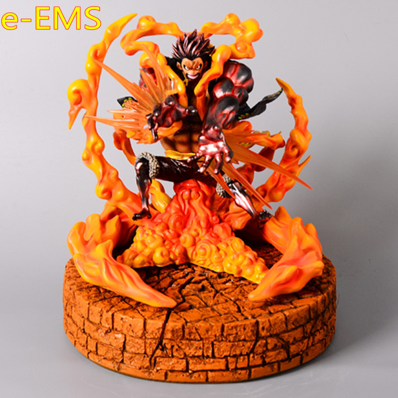 ONE PIECE The Straw Hat Pirates Monkey D. Luffy Lion Rocket Artillery Plating Color Sculpture Action Figure Model Doll G2246ONE PIECE The Straw Hat Pirates Monkey D. Luffy Lion Rocket Artillery Plating Color Sculpture Action Figure Model Doll G2246