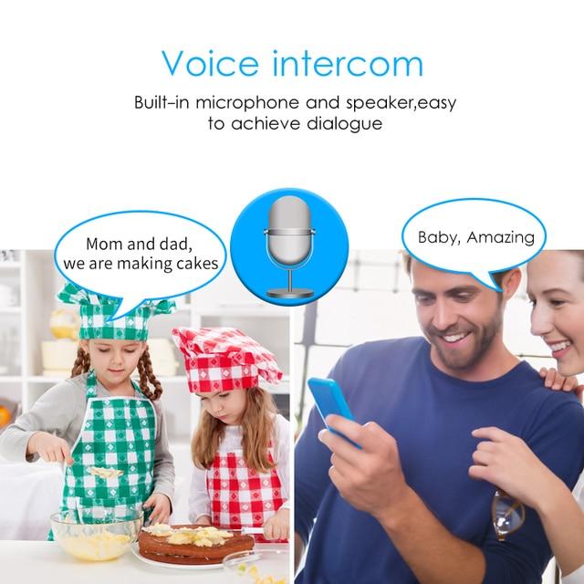 Marlboze 720P HD Wireless Wifi IP Camera Home Security Surveillance Camera 2