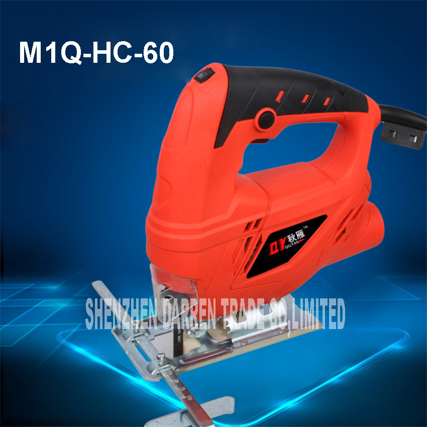 ФОТО Jig SawM1Q-HC-60 chainsaw working multifunction tools, wooden, hand saws chainsaw machine saw for cutting wood Speed regulating