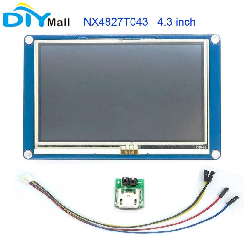 Nextion 4.3 TFT 480x272 NX4827T043 HMI Resistive Touch Screen UART Smart Display Module for Arduino Raspberry Pi ESP8266