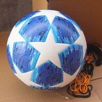 2018 2019 finals Soccer Ball Blue Match football ball Red Madrid 19 Final Balls PU high grade seamless paste skin
