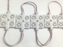 LED 5730 4 Module 12V Waterproof Super Brighter Square Modules Lighting, 500PCS/Lot