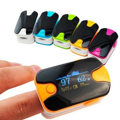 Health Care Finger Tip Pulse Oximeter Display Blood Oxygen
