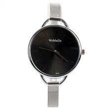 Vogue Women's Ladies Relojes Stainless Steel Colors Dial Relogio Analog Quartz Wrist Watch