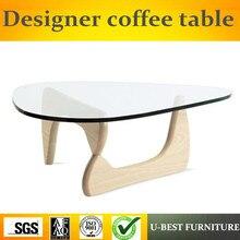 U-BEST мебель для гостиной стеклянный журнальный столик, стеклянный экзотический журнальный столик чайный журнальный столик