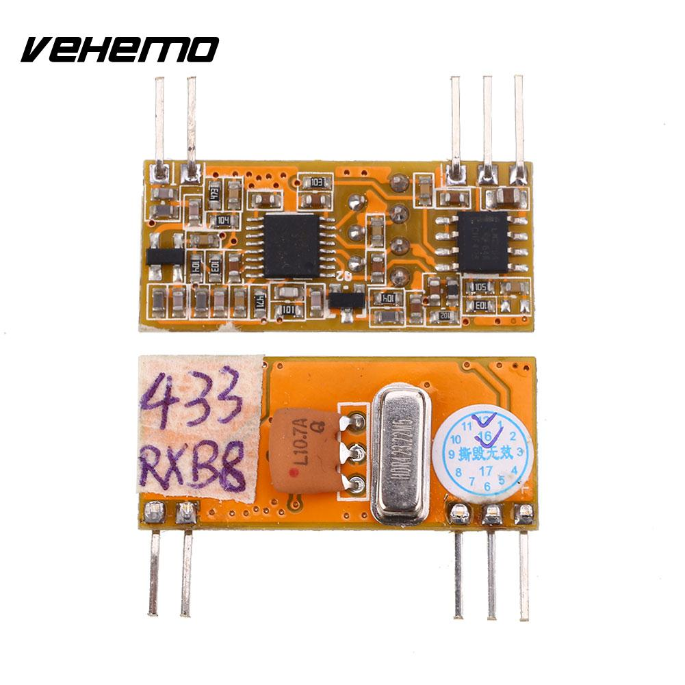 433.0MHz-114dBm DC3-5V Multi Wireless Remote ASK RF Signal Receiver Module ...