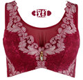 Large Size 75-100 C D DD E cup Sexy Embroidery Bow lace Bralette Push Up Bra upscale thin Cotton brand secret Soutien Gorge 3315