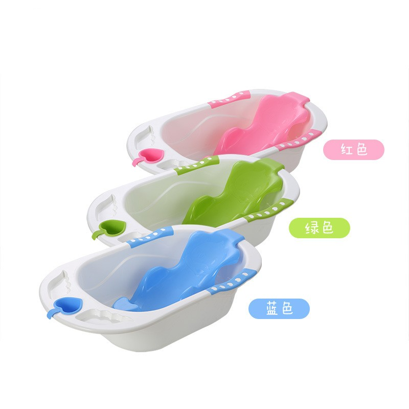 Hot Sale Baby Bathtub With Safety Protection Bath Seat Support Kids Baby Shower Tubs