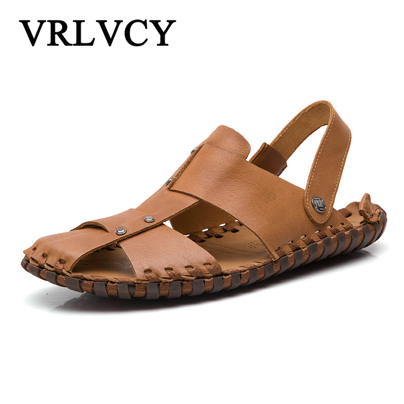 2018 summer massage slippers sandals men sandals fashion hollow breathable beach slippers garden shoes slippers