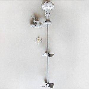 Image 3 - 50 غالون الطلاء المحرض 1/2 حصان هوائي تغليف الطلاء آلة خلط ، 200L التحريك ، خلاط السائل تعمل بالطاقة الهوائية لخزان