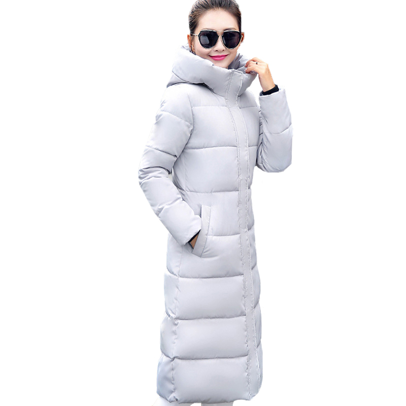 Fashion Winter Jacket Women 2018 Thick Warm Female Jacket Cotton Coat Parkas Long jaqueta feminina inverno Women Hooded Coat