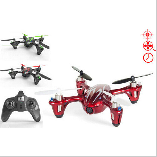 F07858 Hubsan X4 H107C 2.4G 4CH RC Helicopter Quadcopter With Camera RTF+Transmitter+Battery Mini Drones Remote Control Toys