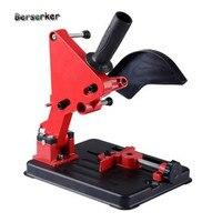 Berserker Angle Grinder Stand DIY Cutting Stand Angle Grinder Accessories Angle Grinder Bracket Holder for 100 115 125mm