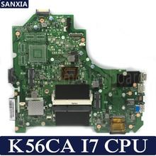 KEFU K56CA Laptop motherboard for ASUS K56CA K56CM K56CB K56C K56 S550CA Test original motherboard I7