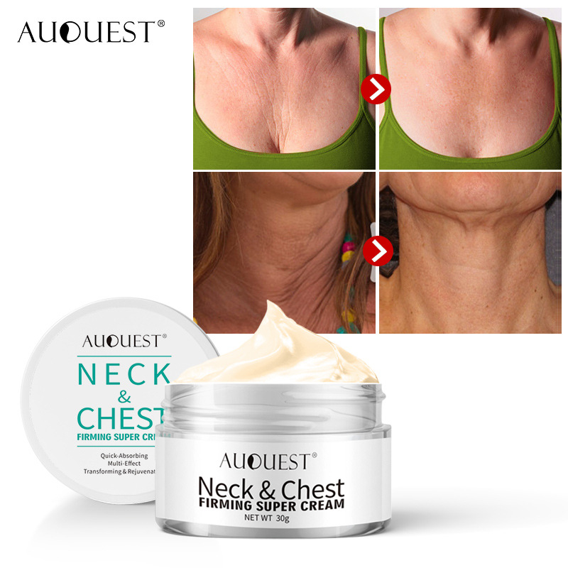 AuQuest Skin Care Neck Lift Neck Cream Essence Lifting Anti-wrinkle Firming  Repair Skin Tightening Cream  Neck Whitening TSLM1