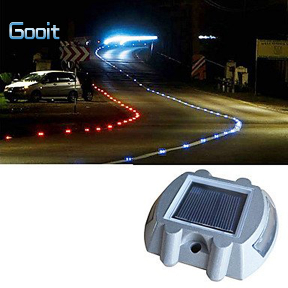Solar Power Led Lights Path Driveway Pathway Deck Light