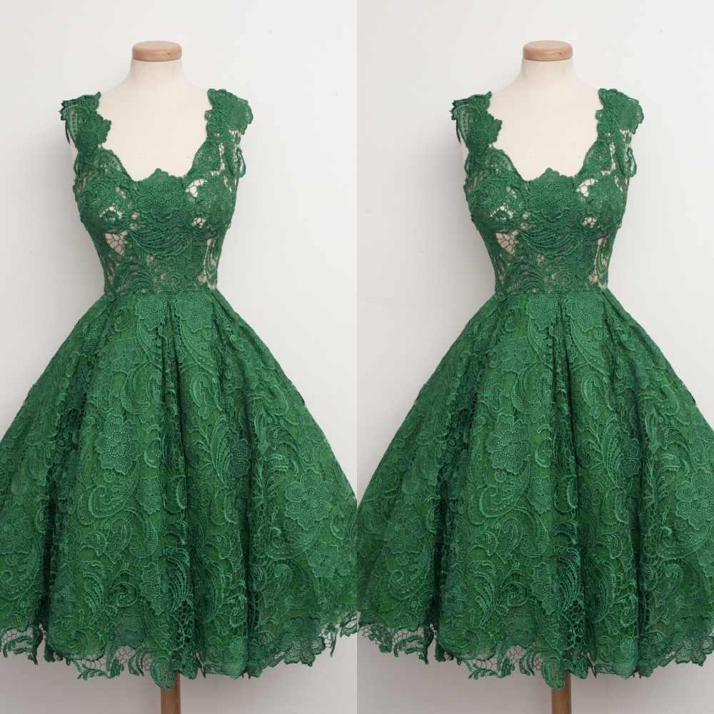 1ec08cfe0d1 Горячая осенняя распродажа 2016 Мода Зеленое Кружевное Лоскутное платье без  рукавов