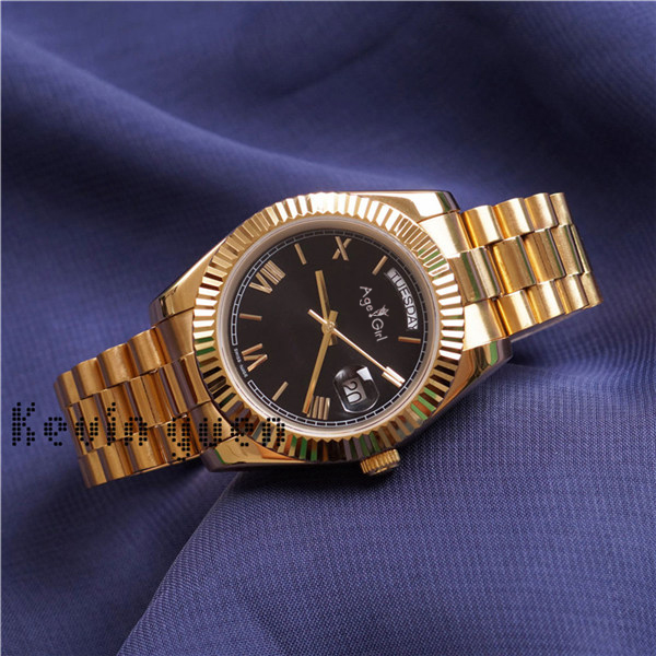 Luxury Brand New Men Daydate Rose Gold Silver Black Blue Automatic Mechanical Stainless Steel Sapphire Sport WatchDaydate 36MMLuxury Brand New Men Daydate Rose Gold Silver Black Blue Automatic Mechanical Stainless Steel Sapphire Sport WatchDaydate 36MM