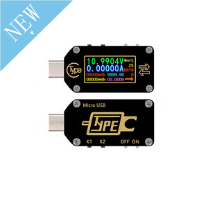 Image 2 - TC66 TC66C نوع C اللون LCD شاشة USB الفولتميتر مقياس التيار الكهربائي الجهد الحالي متر المتر بطارية PD سريع تهمة الطاقة USB Teste