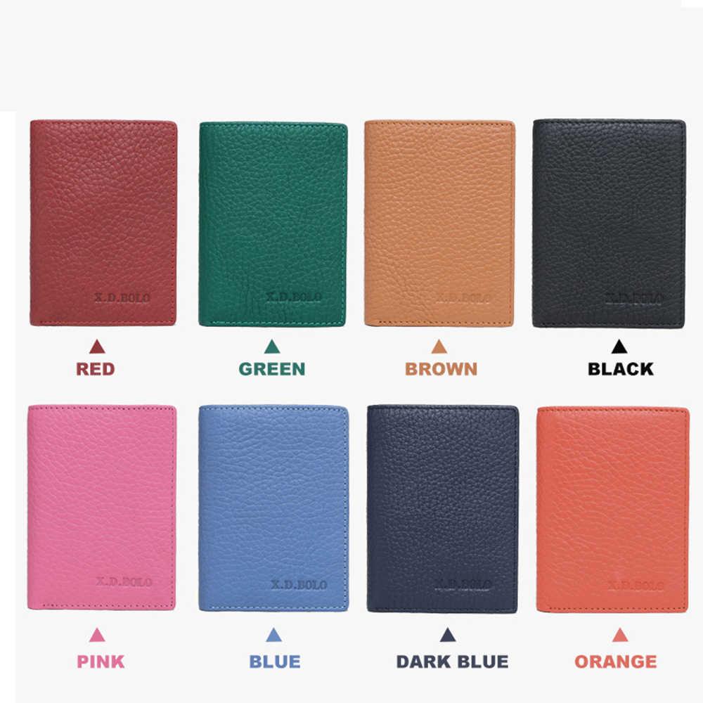 X. D. BOLO кожаный маленький женский кошелек Роскошный бренд известный Мини женские кошельки и кошельки короткие женские кредитные карты держатель