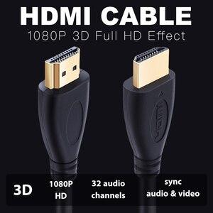 Image 2 - Shuliancable HDMI кабель 1 м 20 м, видеокабели 1,4 1080P 3D, позолоченный кабель hdmi, высокоскоростной для HD TV, XBOX, PS4, компьютера