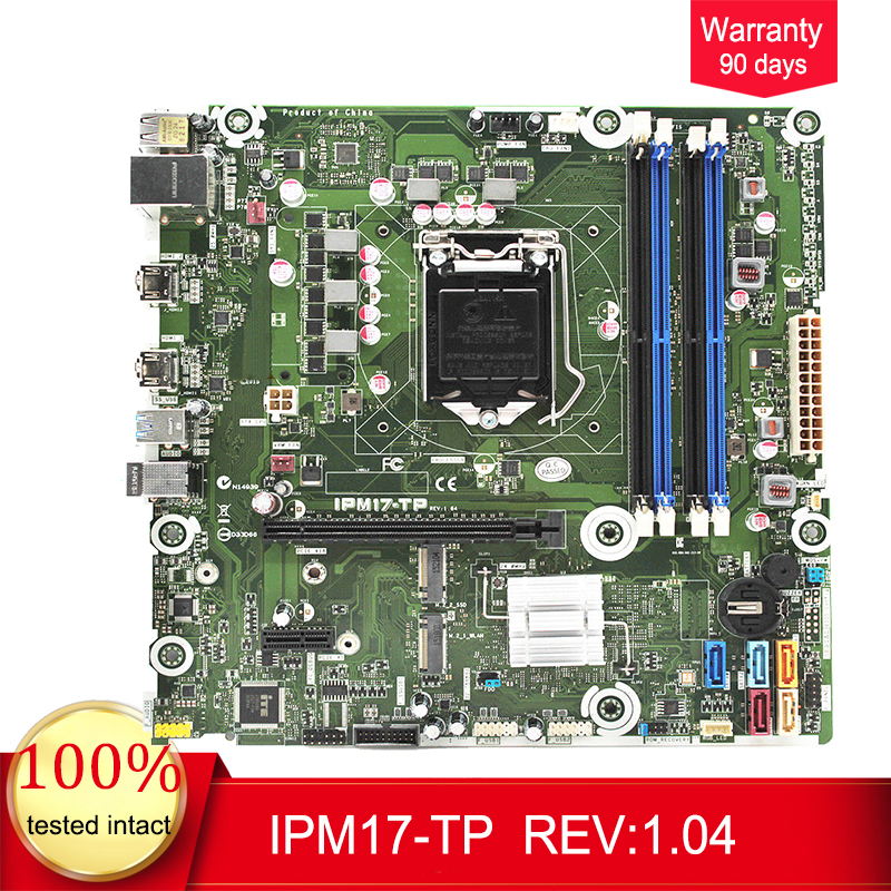 799926-001 For HP Envy Phoenix 860 Desktop Motherboard IPM17-TP 799926-601 Z170 Mainboard 100%tested fully work799926-001 For HP Envy Phoenix 860 Desktop Motherboard IPM17-TP 799926-601 Z170 Mainboard 100%tested fully work
