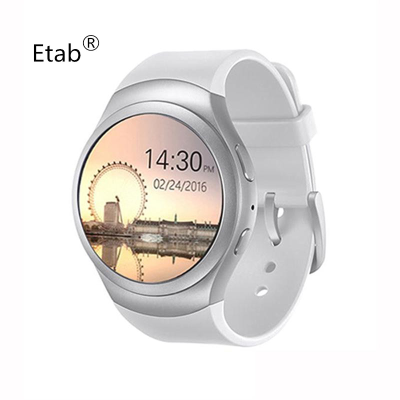 ФОТО 2017 ETab S6 Hot smartwatch with 3 Colors  SIM TF card Stainless Steel Smartwaches for women free shipping MTK2502
