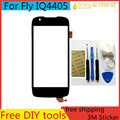 """Tools+ New 4.5"""" Touchscreen for Fly IQ4405 Evo Chic 1 IQ 4405 Sensor Touch screen Digitizer front glass Mobile Phone Touch Panel"""