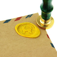 Chihuahua Wax Seal Stamp Dog Brass Stamp